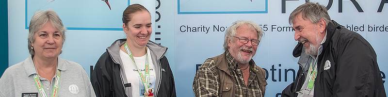 Birding for All Patron Bill Oddie