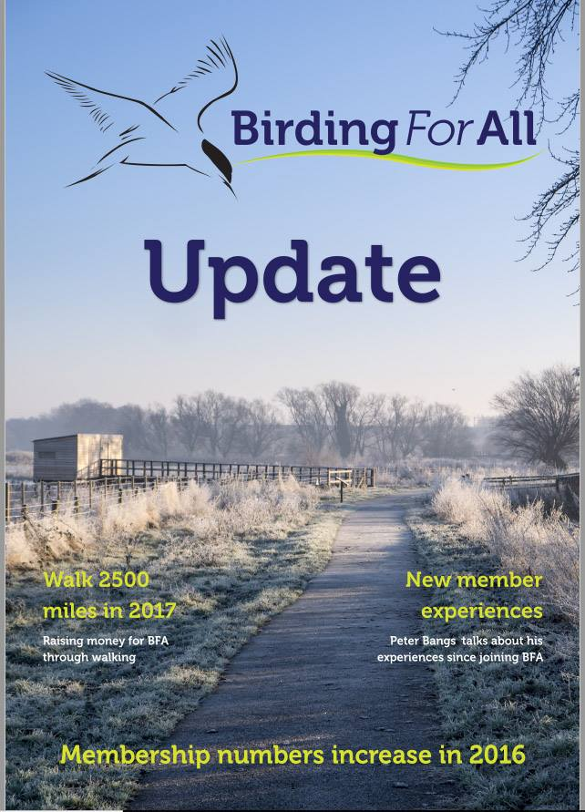 Update - The Birding For All Newsletter - Birding For All Newsletters