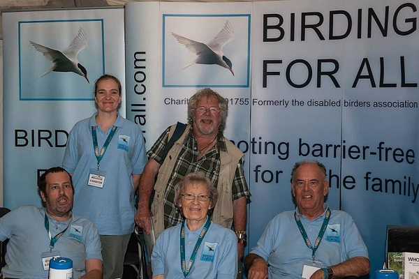 2013 British Birdfair - Birding For All Meeting Bill Oddie