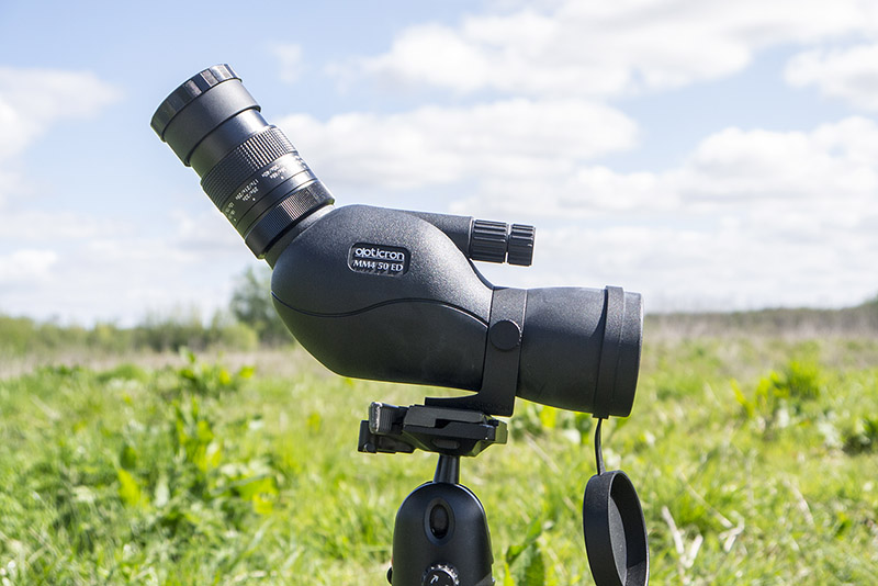 Opticron MM4 in use in the Field