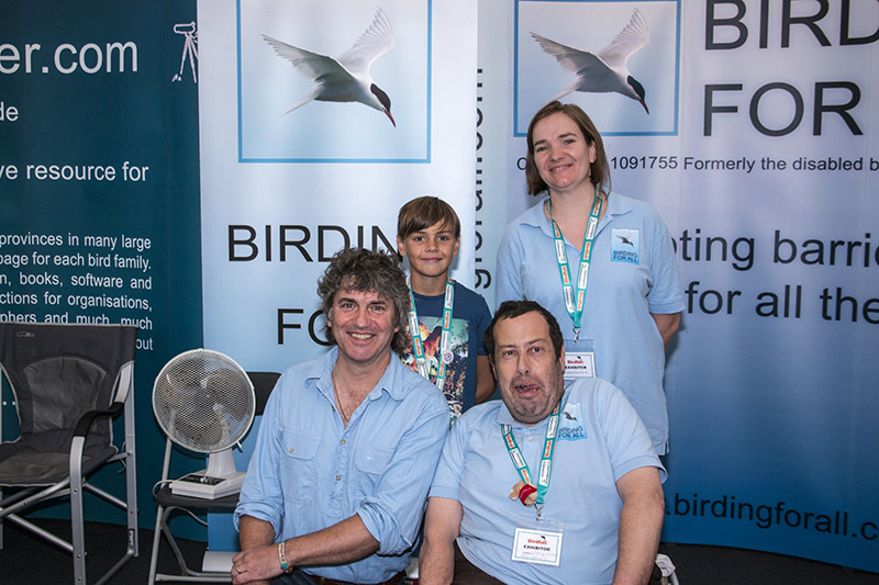 Martin Huges-Games Our latest patron at Birdfair 2015